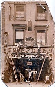 Fairyland, 92 Tottenham Court Road London circa 1905