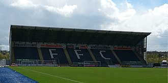 Falkirk Stadium - The South Stand.