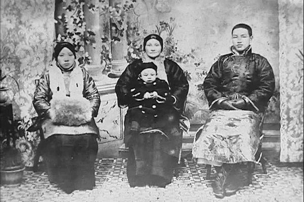 Family of young Chiang Kai-Shek