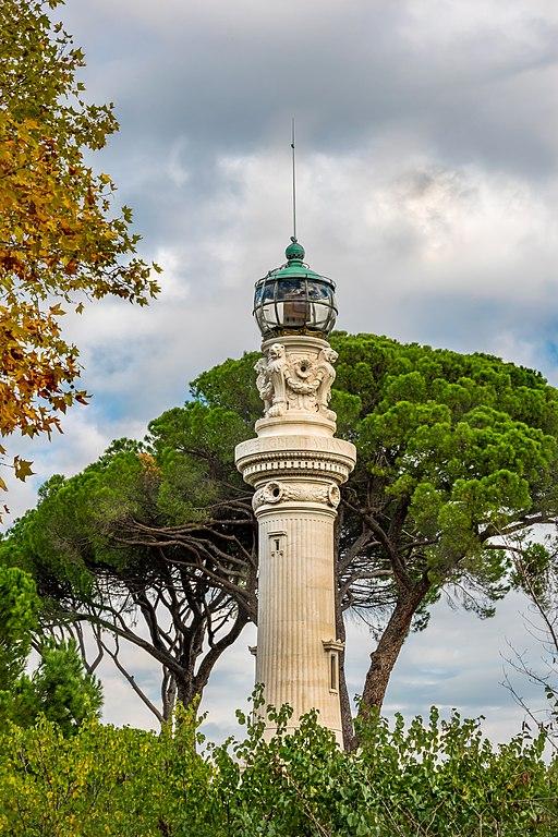 Phare du Janicule à Rome - Photo d'Eigenes Werk
