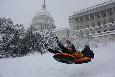 February 2010 Blizzard, Capitol Hill -- In the center of power.jpg