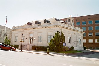 National Register of Historic Places listings in Lincoln Parish, Louisiana - Image: Federal Building Ruston Louisiana