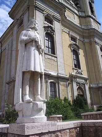Jakab Fellner - Statue of Jakab Fellner in Tata