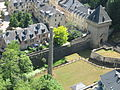 Fengerlek Pafendall, Luxembourg City (as see from Red Bridge)2.JPG
