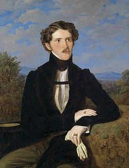 Ferdinand Georg Waldmüller - Portrait of Edward Silberstein