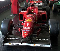 ミハエル・シューマッハがドライブしたF310(後期型)