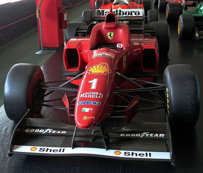 Datei Ferrari F310 1996 Schumacher Jpg Wikipedia