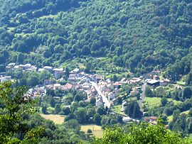 A general view of Ferrières-Saint-Mary