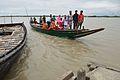 Ferry Boat Crossing River Matla - Godkhali - South 24 Parganas 2016-07-10 4812.JPG
