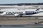 Finnair (Marimekko Kivet livery), OH-LWL, Airbus A350-941 (40637715011).jpg