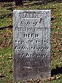 Finney (Jane), Lebanon Church Cemetery, 2015-10-23, 02.jpg