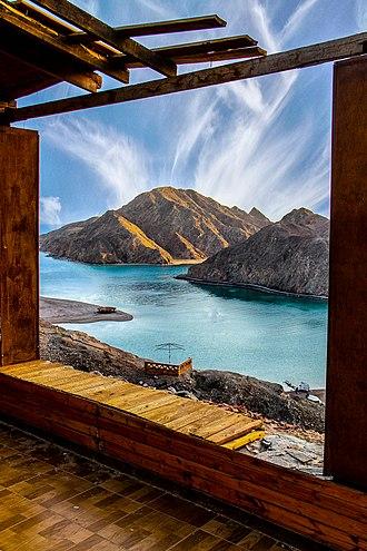 Taba, Egypt - Image: Fiord Bay Bay Taba