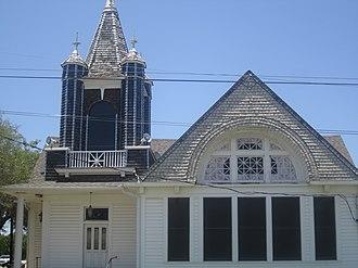 Kosse, Texas - First Baptist Church of Kosse; pastor John Free (2012)