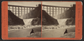 First Fall in Genesee River, and Portage R.R. Bridge, from Robert N. Dennis collection of stereoscopic views.png