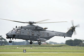 No. 3 Squadron RNZAF - Image: First flight of a RNZAF NH 90