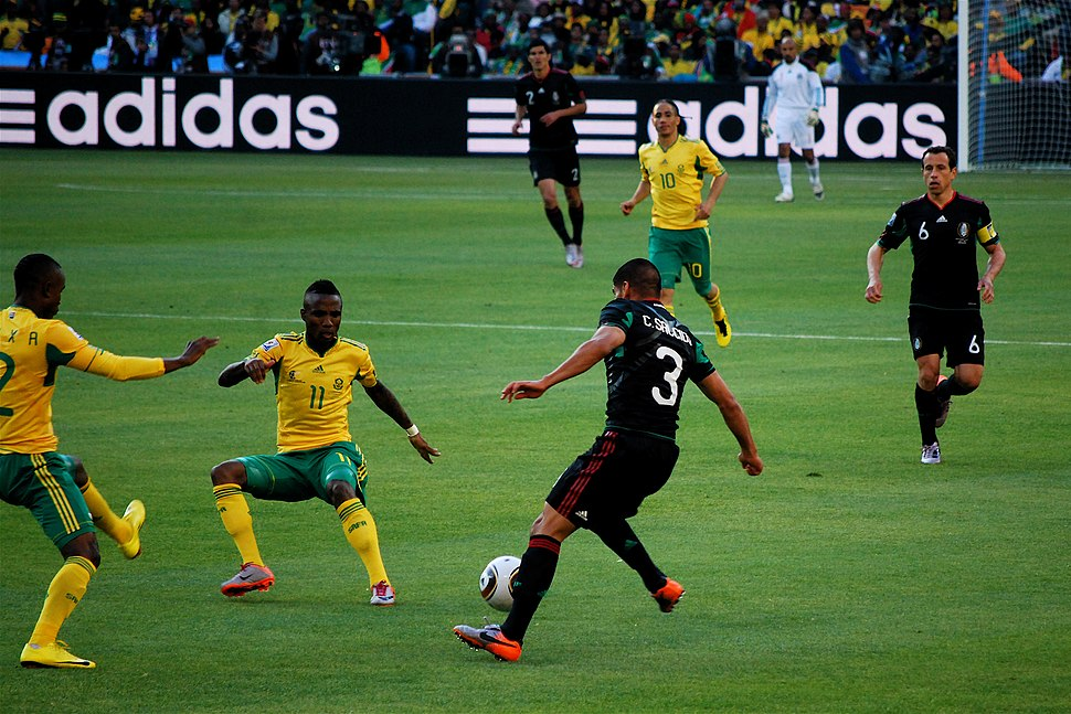 First game of the 2010 FIFA World Cup, South Africa vs Mexico4