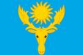 Flag of Oktyabrsky rayon (Kostroma oblast).png