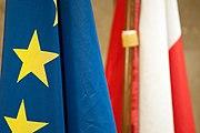 Flaga RP z UE