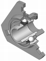Flanged-housing-unit din626-t3 type-db-yel 120.png