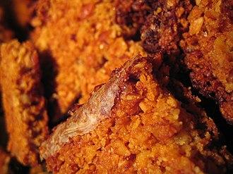Flapjack (oat bar) - Image: Flapjacks 2