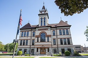 Flathead County Courthouse in Kalispell