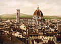 Flickr - …trialsanderrors - The Duomo viewed from the Palazzo Vecchio, Florence, Tuscany, Italy, ca. 1897.jpg