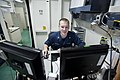 Flickr - Official U.S. Navy Imagery - A Legalman reviews documents at sea..jpg