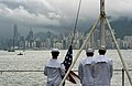Flickr - Official U.S. Navy Imagery - USS Carl Vinson Sailors prepare to shift colors..jpg