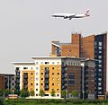 Flickr - davehighbury - Jet Landing Woolwich London 310.jpg