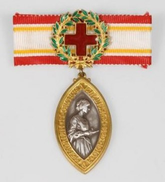 Florence Nightingale Medal - Obverse of the medal.