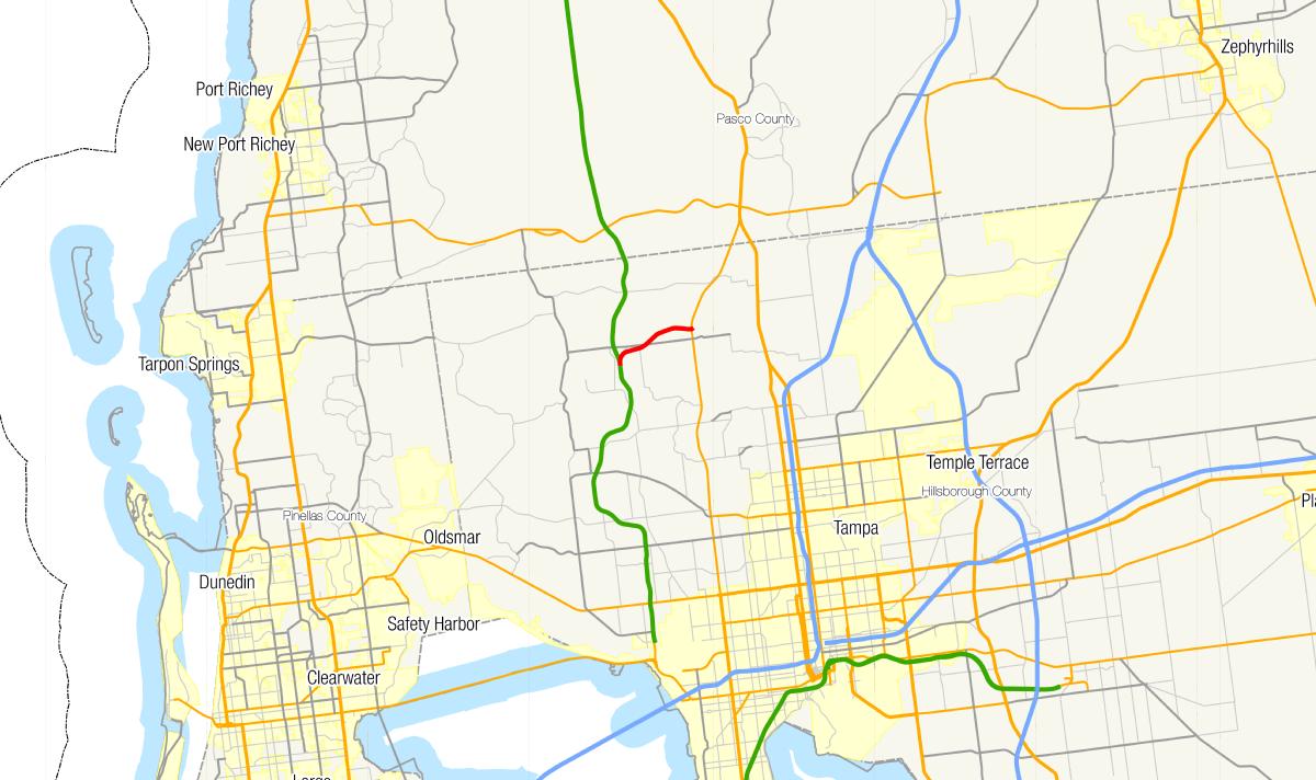 Map Of Florida Roads.Florida State Road 568 Wikipedia