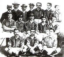 A equipe que conquistou o primeiro Campeonato Carioca 09f38cec2f499