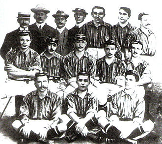 Fluminense FC - The team that won its first Campeonato Carioca, in 1906