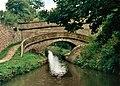 Foden Bank Bridge, Macclesfield Canal (1994) - geograph.org.uk - 2145556.jpg