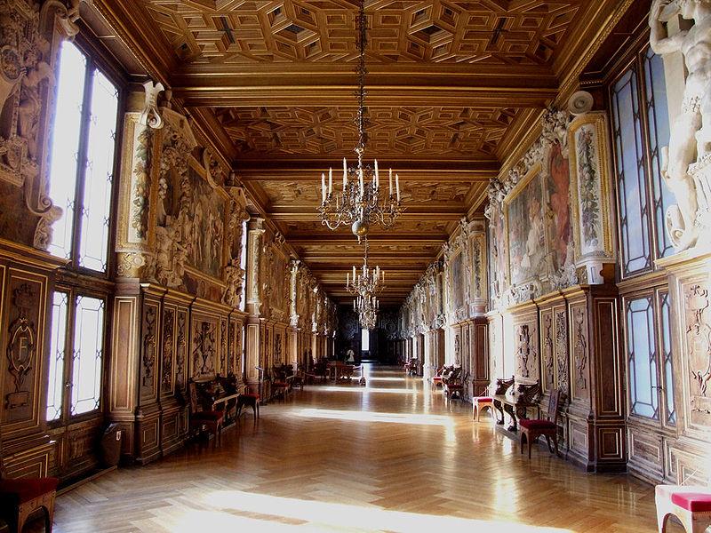 Государственные апартаменты в Château de Fontainebleau (Замок Фонтенбло)