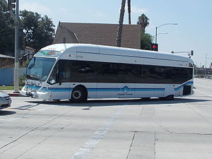 Foothill Transit - Image: Foothill Transit NABI BRT
