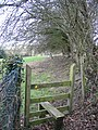 Footpath and Stile near Pen-y-felin - geograph.org.uk - 347553.jpg