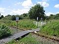 Footpath level crossing near Balgonie Colliery - geograph.org.uk - 946972.jpg
