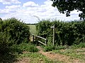 Footpath to, er, well, Longstowe, I suppose - geograph.org.uk - 872083.jpg