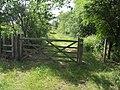 Footpath to Brownhills, Watling Street Station - geograph.org.uk - 848552.jpg