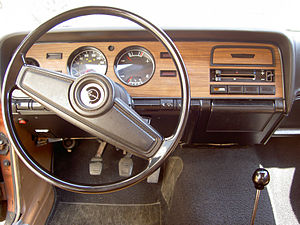 Mercury Capri - 1973 Capri 2000 revised dash, steering wheel