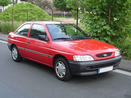 Ford-Escort-Limousine-2-türig-Modell-1993
