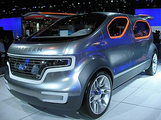 "Chicago Auto Show - The Ford ""Airstream"" Concept car."