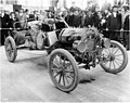 """Ford Model """"T"""" car no 2, winner of the trans-continental race from New York to Seattle on display, Alaska Yukon Pacific (AYP 66).jpeg"""