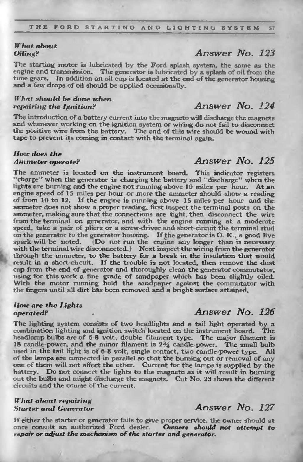 Pageford Manual 1919djvu 57 Wikisource The Free Online Library Model A Ford Generator Wiring If Either Starter Or Fails To Give Proper Service Owner Should At Once Consult An Authorized Dealer Owners Not Attempt