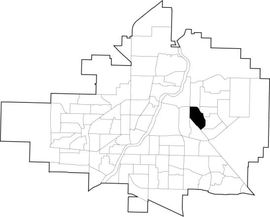 Forest Grove location map