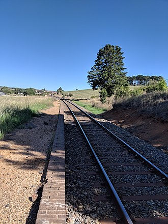 Lake Bathurst (New South Wales) - Site of former Lake Bathurst station