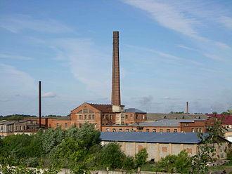 Obukhovo, Noginsky District, Moscow Oblast - Former Obukhovo Lenin Carpet Factory