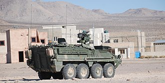 IAV Stryker - Stryker at Fort Irwin National Training Center