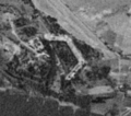 Fort Jakuba (Toruń, Poland) seen by the American reconnaissance satellite Corona 98 (KH-4A 1023) (1965-08-23).png